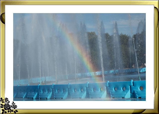 法拉盛可乐娜公园地球仪喷水池夜景_图1-8