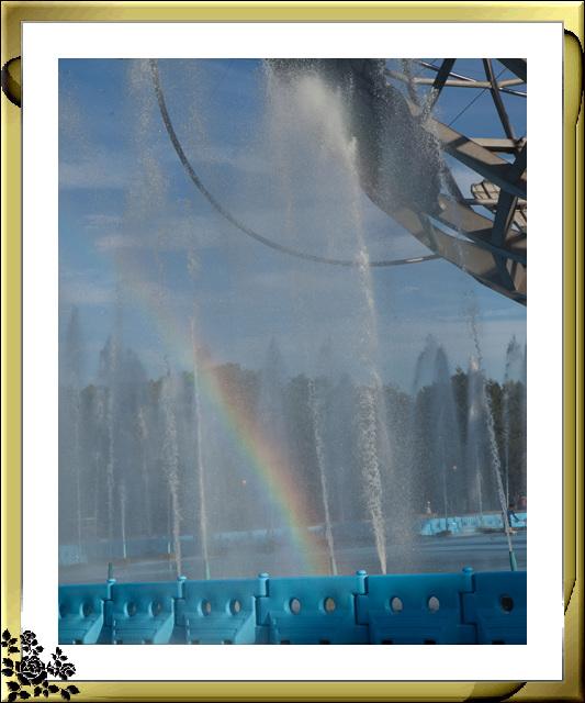 法拉盛可乐娜公园地球仪喷水池夜景_图1-14