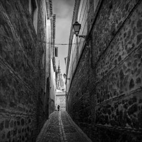 西班牙小镇,那些幽静的小石路