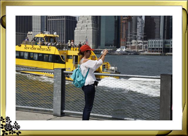 布鲁克林大桥公园是新一代的濱河公园,是绿地公园,视野开阔,欣赏曼哈顿天际线的好 . ..._图1-4