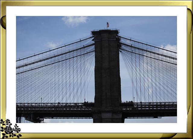 布鲁克林大桥公园是新一代的濱河公园,是绿地公园,视野开阔,欣赏曼哈顿天际线的好 . ..._图1-26