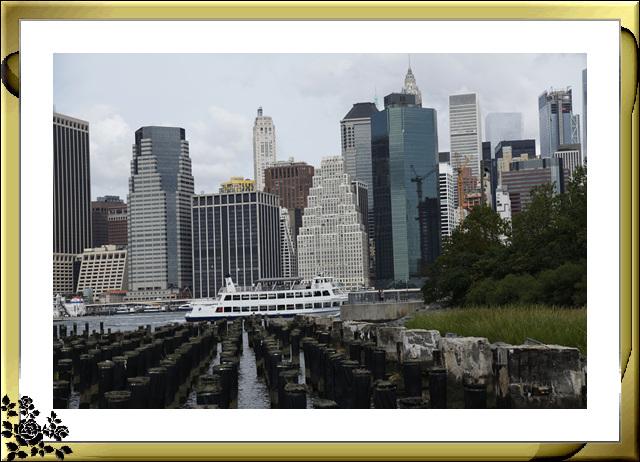 布鲁克林大桥公园是新一代的濱河公园,是绿地公园,视野开阔,欣赏曼哈顿天际线的好 . ..._图1-11