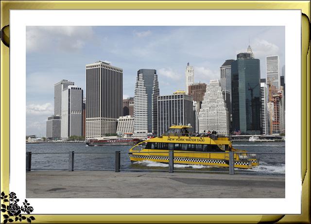 布鲁克林大桥公园是新一代的濱河公园,是绿地公园,视野开阔,欣赏曼哈顿天际线的好 . ..._图1-16