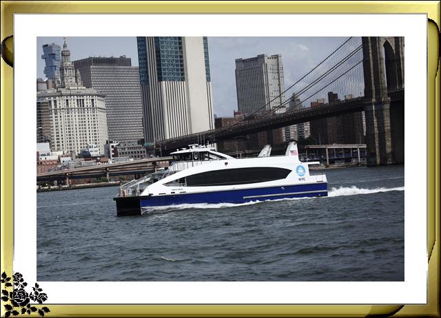 布鲁克林大桥公园是新一代的濱河公园,是绿地公园,视野开阔,欣赏曼哈顿天际线的好 . ..._图1-19