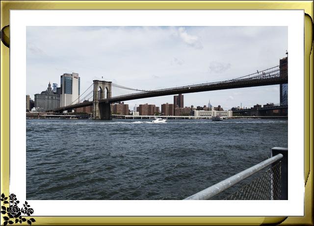 布鲁克林大桥公园是新一代的濱河公园,是绿地公园,视野开阔,欣赏曼哈顿天际线的好 . ..._图1-29