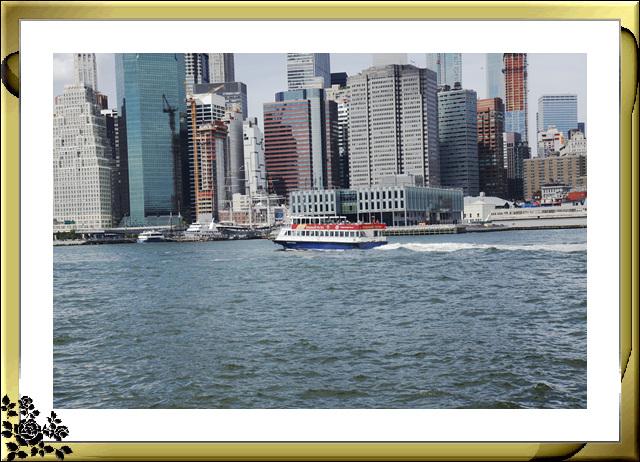 布鲁克林大桥公园是新一代的濱河公园,是绿地公园,视野开阔,欣赏曼哈顿天际线的好 . ..._图1-24