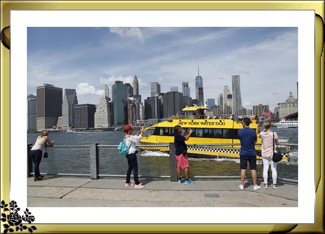 布鲁克林大桥公园是新一代的濱河公园,是绿地公园,视野开阔,欣赏曼哈顿天际线的好 . ..._图1-25