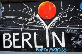 柏林墙壁画