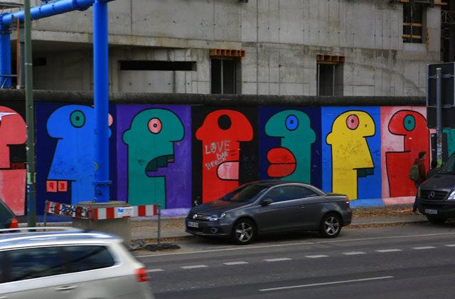 柏林墙壁画_图1-30