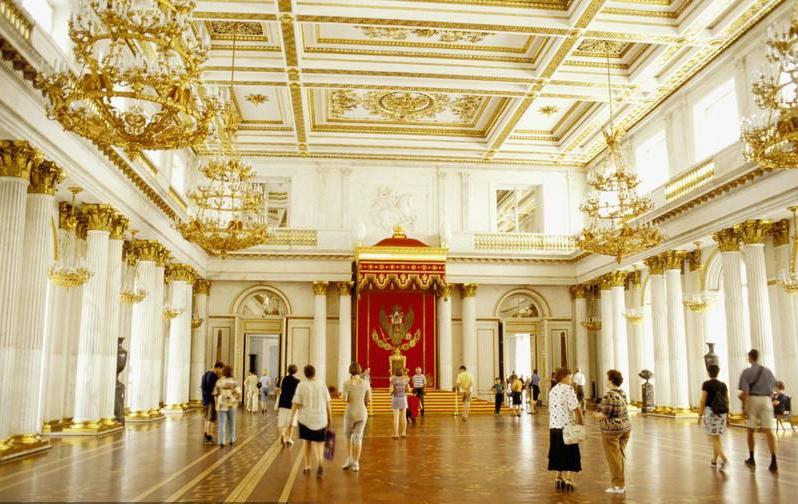 【(三)冬宫--俄罗斯帝国辉煌的宫殿】_图1-3