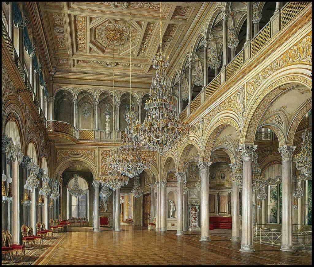【(三)冬宫--俄罗斯帝国辉煌的宫殿】_图1-21