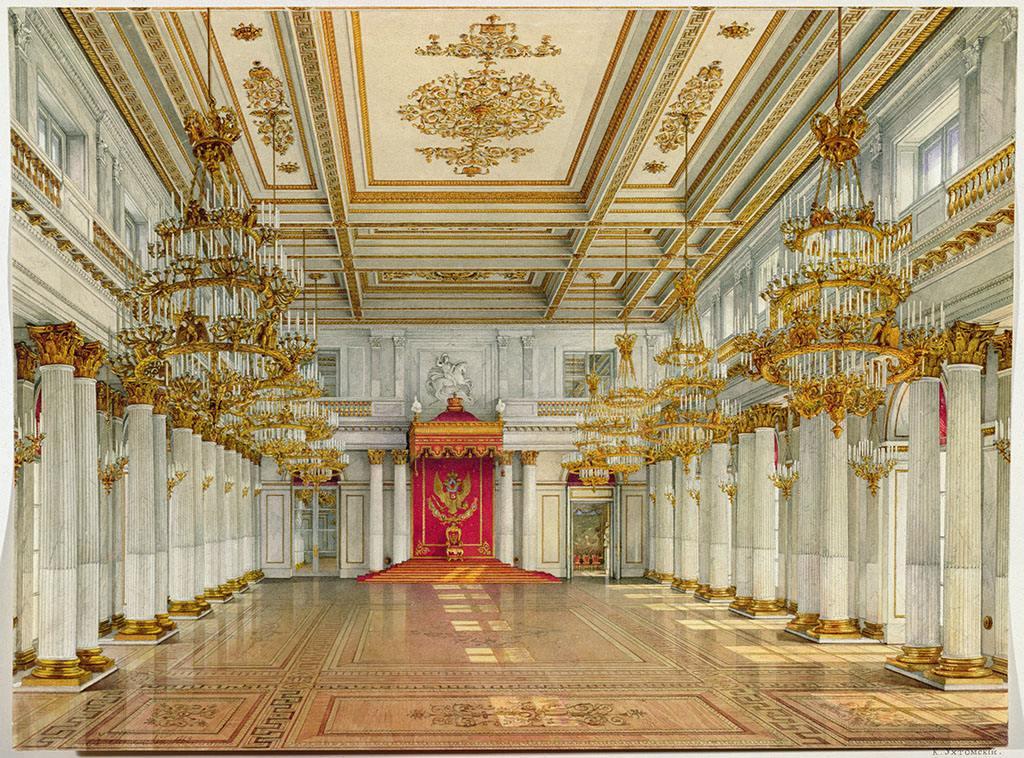 【(三)冬宫--俄罗斯帝国辉煌的宫殿】_图1-22