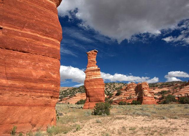 烟囱岩与白石林   新墨西哥州_图1-6