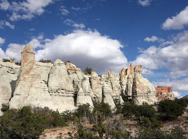 烟囱岩与白石林   新墨西哥州_图1-10
