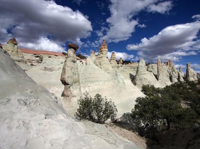 烟囱岩与白石林   新墨西哥州_图1-12
