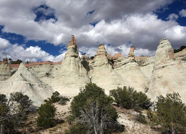 烟囱岩与白石林   新墨西哥州_图1-13