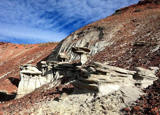 烟囱岩与白石林   新墨西哥州_图1-14