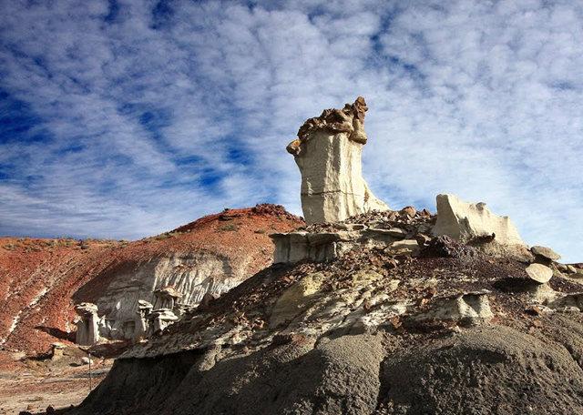 烟囱岩与白石林   新墨西哥州_图1-15