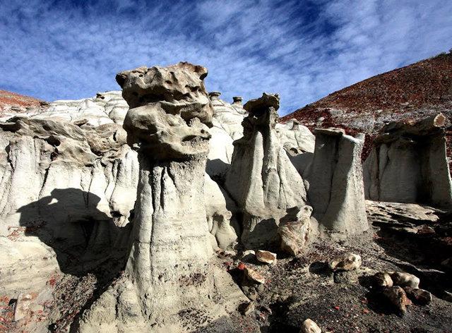烟囱岩与白石林   新墨西哥州_图1-16