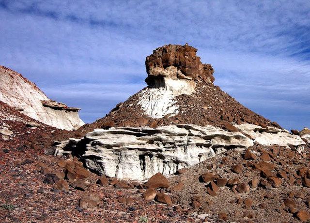 烟囱岩与白石林   新墨西哥州_图1-17