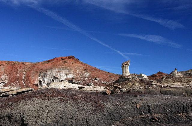 烟囱岩与白石林   新墨西哥州_图1-18