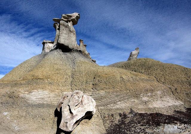 烟囱岩与白石林   新墨西哥州_图1-19