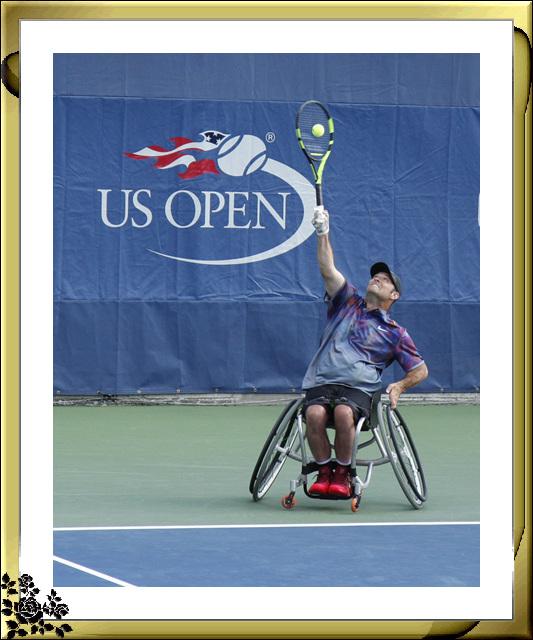 2017年美国世界网球公开赛9月8日花絮(男子双打,女子双打,残疾人坐轮椅单打) ..._图1-11