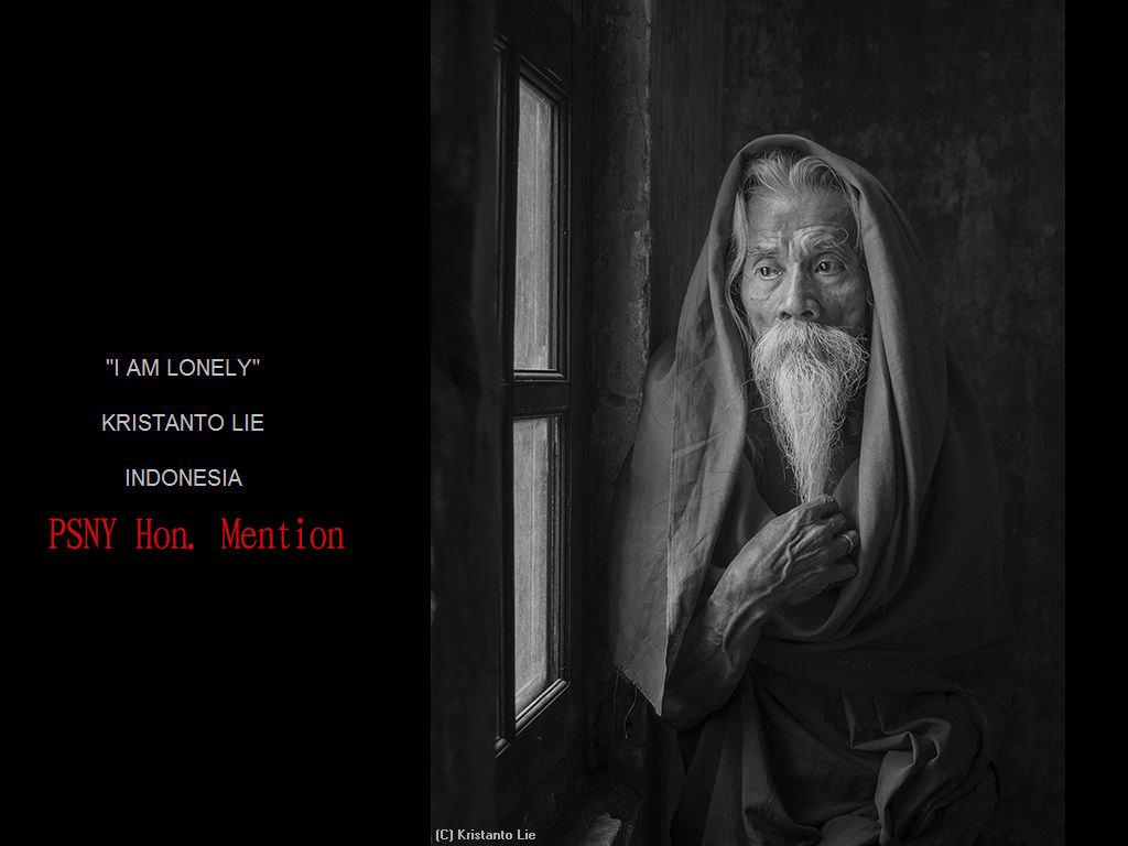 纽约摄影学会2017年沙龍數碼單色自由題組獲獎作品_图1-24