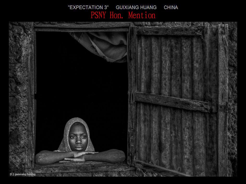 纽约摄影学会2017年沙龍數碼單色自由題組獲獎作品_图1-23