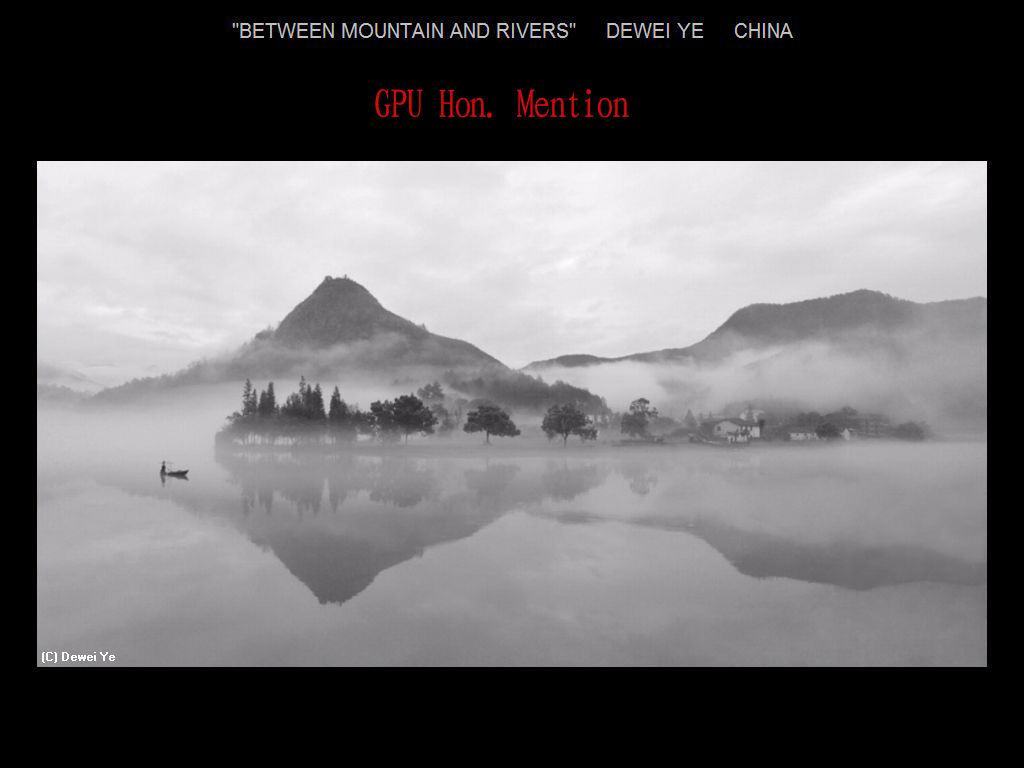 纽约摄影学会2017年沙龍數碼單色自由題組獲獎作品_图1-20