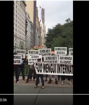 旅居美国的西班牙人声讨郭文贵(914视频)_图1-1