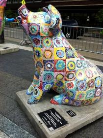 克兰夫兰城市雕塑......猪