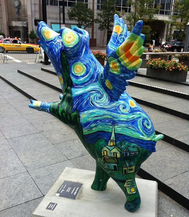 克兰夫兰城市雕塑......猪_图1-2