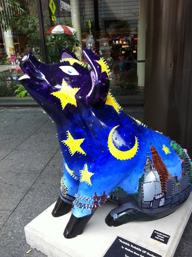 克兰夫兰城市雕塑......猪_图1-4
