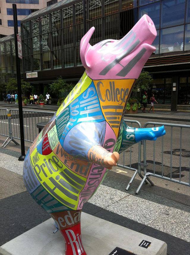克兰夫兰城市雕塑......猪_图1-7