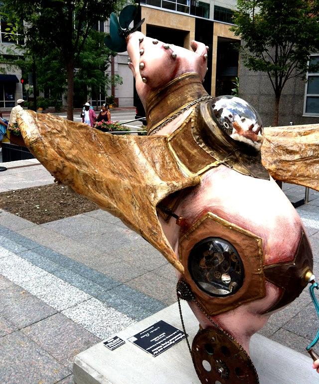 克兰夫兰城市雕塑......猪_图1-10