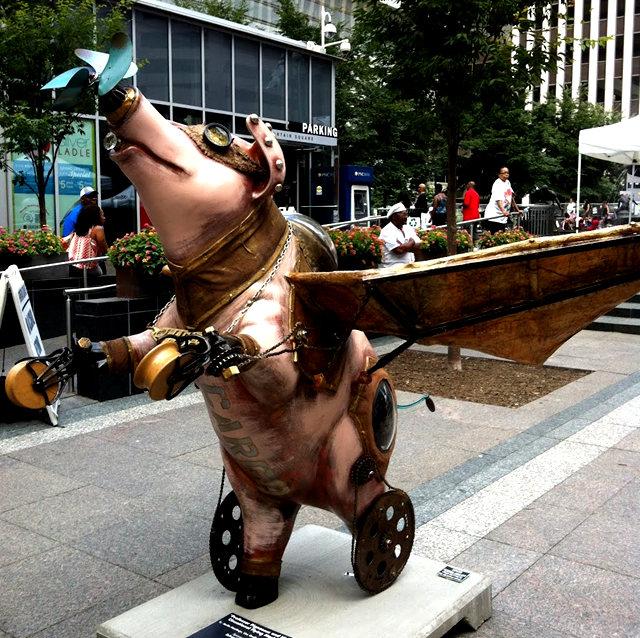 克兰夫兰城市雕塑......猪_图1-11