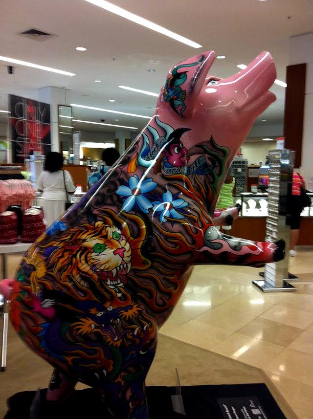克兰夫兰城市雕塑......猪_图1-15