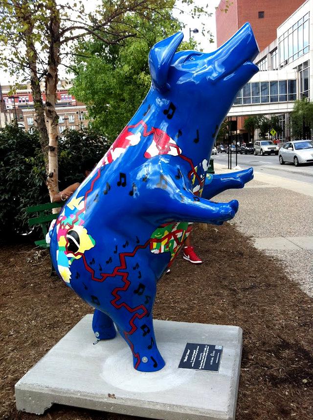 克兰夫兰城市雕塑......猪_图1-16