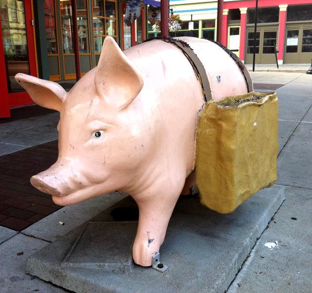 克兰夫兰城市雕塑......猪_图1-17