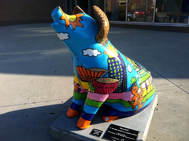 克兰夫兰城市雕塑......猪_图1-19