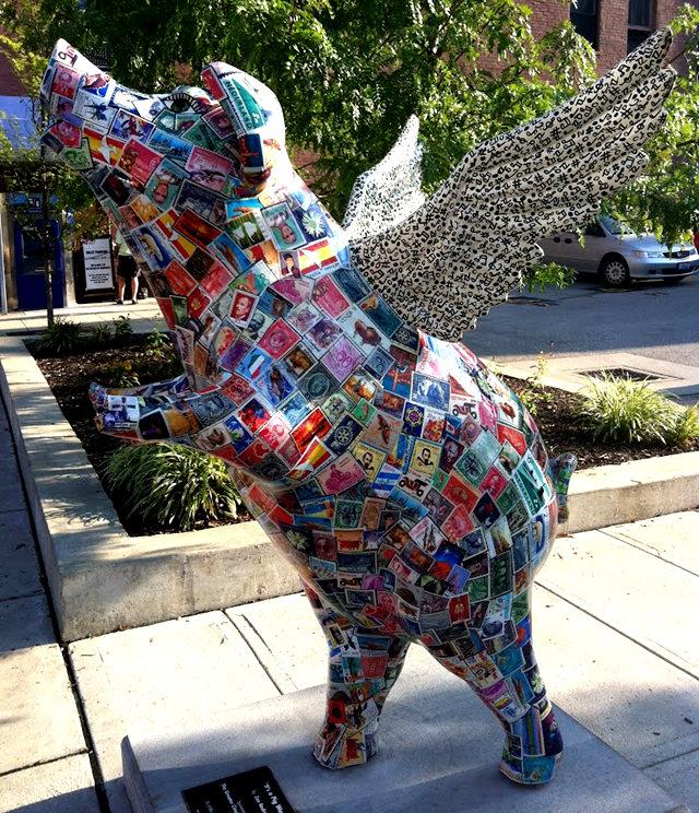 克兰夫兰城市雕塑......猪_图1-20