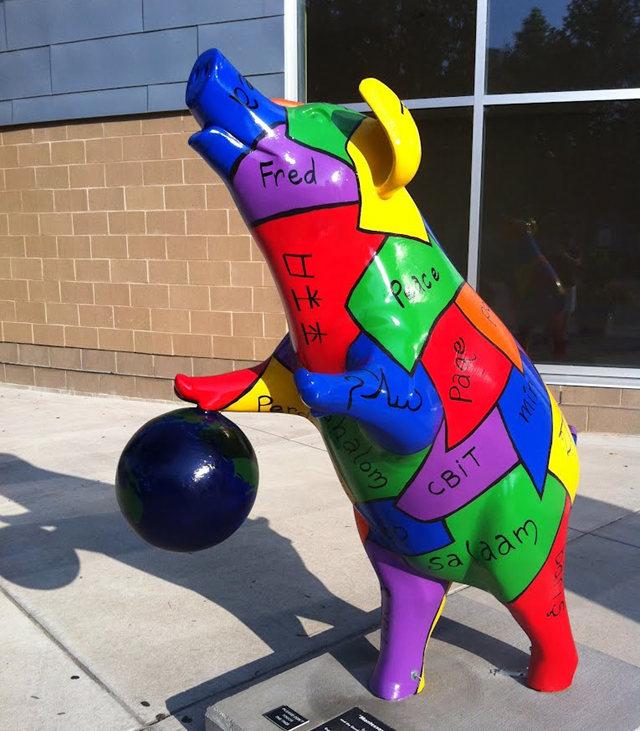克兰夫兰城市雕塑......猪_图1-21