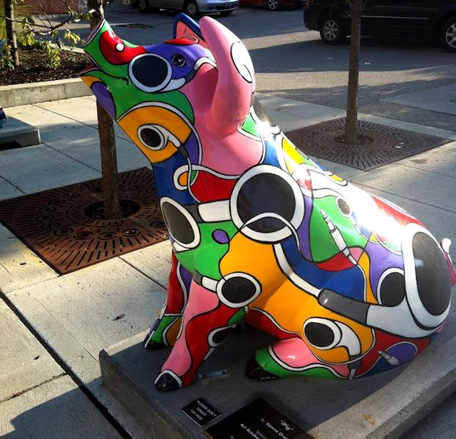 克兰夫兰城市雕塑......猪_图1-24