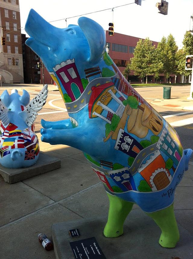 克兰夫兰城市雕塑......猪_图1-25