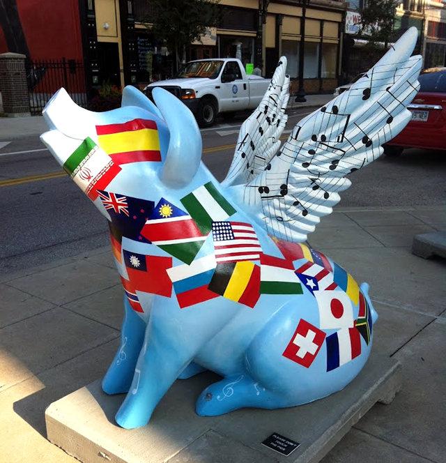 克兰夫兰城市雕塑......猪_图1-26
