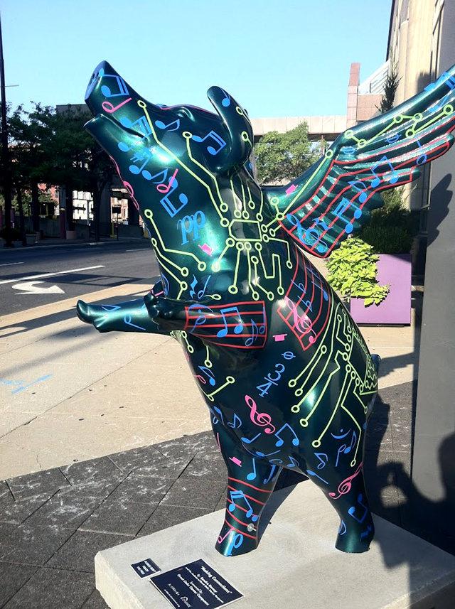 克兰夫兰城市雕塑......猪_图1-28