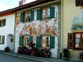 德国壁画城镇......米滕瓦尔德