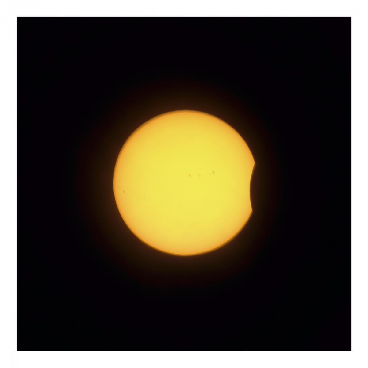 麻省拍到的日偏食【心想事成】_图1-1