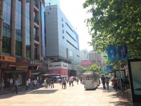 闲逛上海看街景